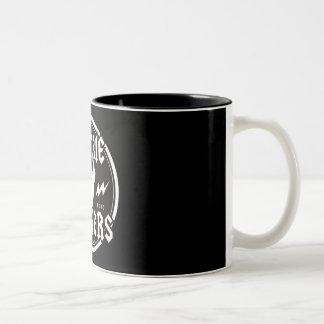 CANECA DE CAFÉ EM DOIS TONS ZOMBI ZAPPERS