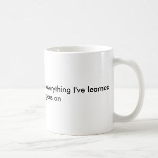 Caneca De Café Em três palavras eu posso resumir tudo