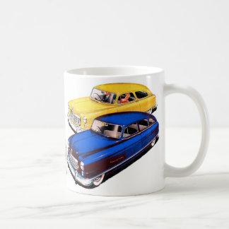 Caneca De Café Embaixador retro Arte de Nash do carro do kitsch