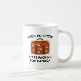 Caneca De Café Embalagem para Canadá