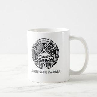 Caneca De Café Emblema samoano