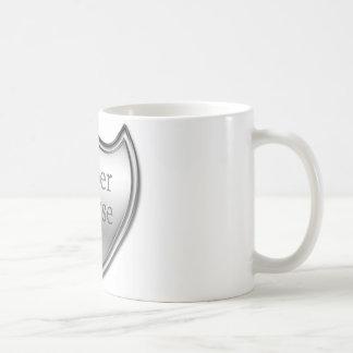 Caneca De Café Emblema super da enfermeira