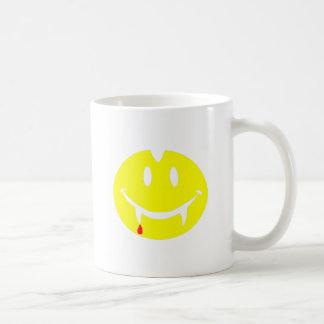 Caneca De Café emoji dracula do vampiro