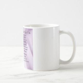 Caneca De Café Empregada doméstica do poema da honra - design de