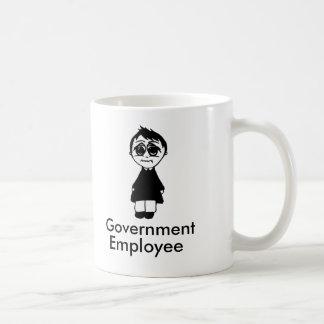 Caneca De Café Empregado do governo