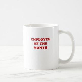 Caneca De Café Empregado do mês