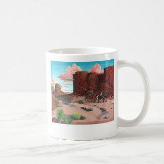Caneca De Café Encontro próximo, inseto do deserto