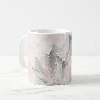 Caneca De Café Energia Amethyst Chakra da cura de cristal do