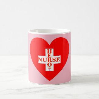Caneca De Café Enfermeira do herói