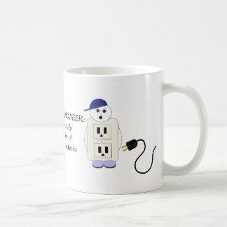 Caneca De Café Engenheiro electrotécnico