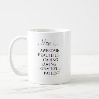 Caneca de café engraçada - a mamã é impressionante