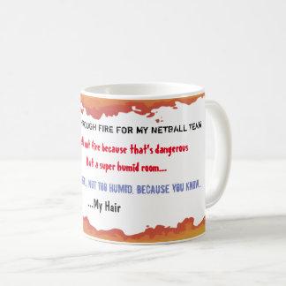 Caneca de café engraçada das citações da equipe do