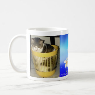 Caneca de café engraçada do gato