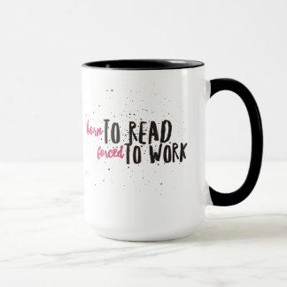 Caneca de café engraçada do provérbio para