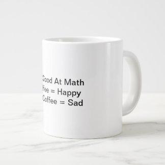Caneca de café engraçada para pessoas com sentido
