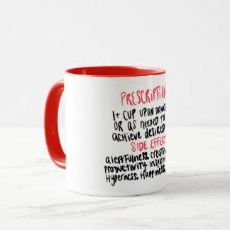 Caneca de café engraçada - tom dois
