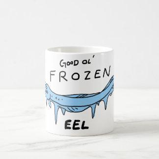 Caneca De Café enguia congelada