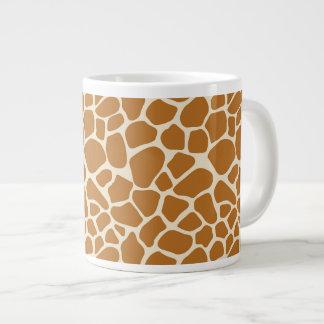 Caneca de café enorme do impressão do girafa
