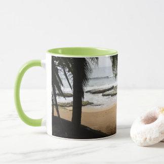 Caneca de café enorme tropical de Panamá da brisa