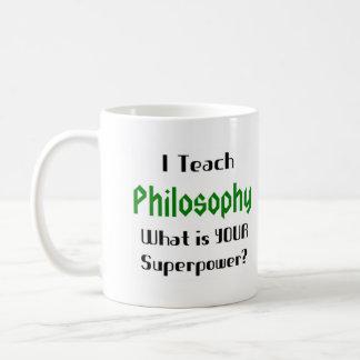 Caneca De Café Ensine a filosofia