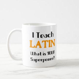 Caneca De Café Ensine o latino