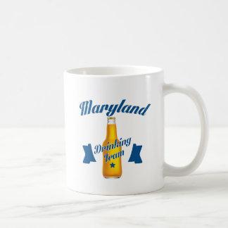 Caneca De Café Equipe do bebendo de Maryland