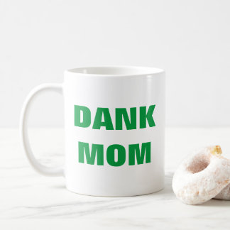 Caneca De Café Erva daninha engraçada do dia das mães da mamã