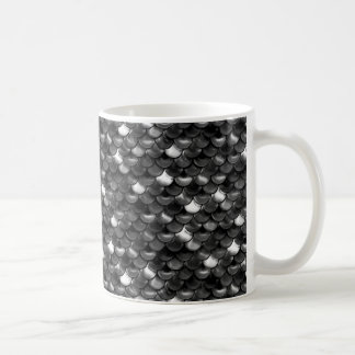 Caneca De Café Escalas preto e branco de Falln