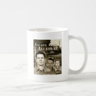 Caneca De Café Escape 1962 de Alcatraz - de Morris & de Anglins
