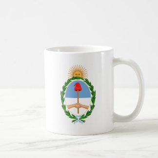 Caneca De Café Escudo de Argentina - brasão de Argentina
