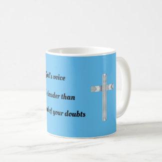 Caneca De Café Escute a voz do deus