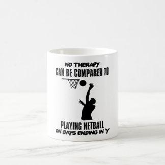 Caneca De Café esfrie e tendendo o DESIGN do netball