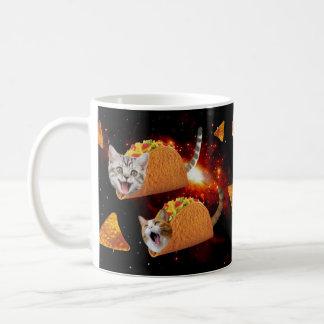 Caneca De Café Espaço dos gatos do Taco