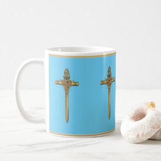 Caneca De Café Espadas celtas