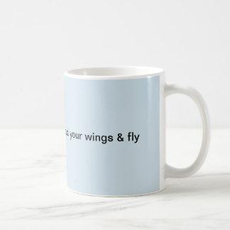 Caneca De Café Espalhe suas asas e voe