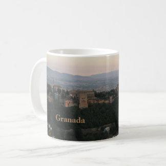 Caneca De Café Espanha de Granada, cartão de Alhambra