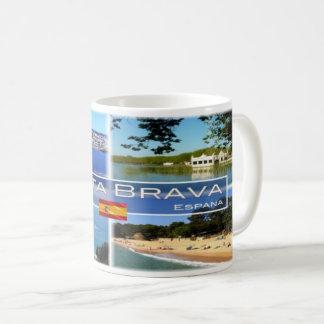 Caneca De Café Espanha - Espana - costela Brava -