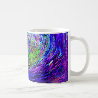 Caneca De Café Espiral colorida