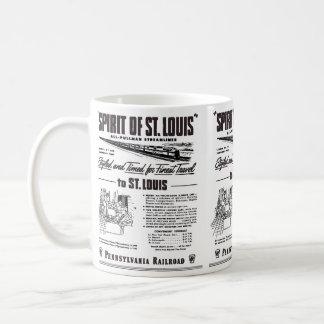 Caneca De Café Espírito de PRR Streamliner de St Louis