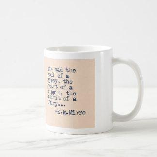 Caneca De Café Espírito do coração da alma