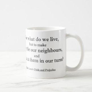 Caneca De Café Esporte para nossos vizinhos