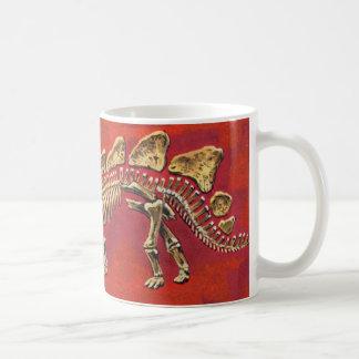 Caneca De Café Esqueleto do Stegosaurus