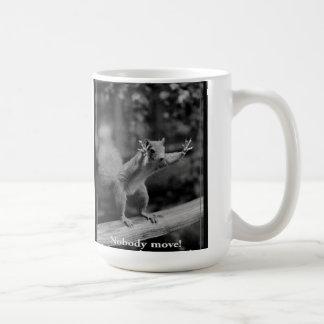 Caneca De Café Esquilo e loucos