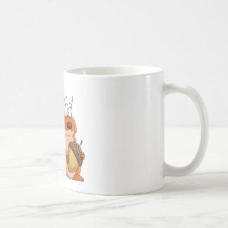 Caneca De Café esquilo que guardara a bolota