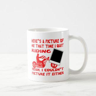 Caneca De Café Está aqui uma imagem de mim que tempo eu paro