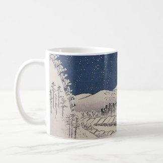 Caneca De Café Está nevando