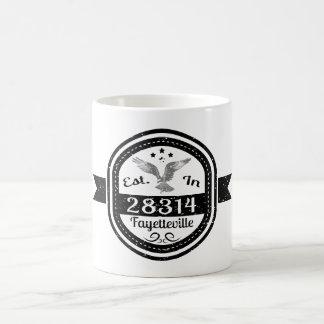 Caneca De Café Estabelecido em 28314 Fayetteville