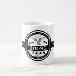 Caneca De Café Estabelecido em 30096 Duluth