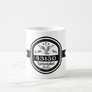 Caneca De Café Estabelecido em 43130 Lancaster