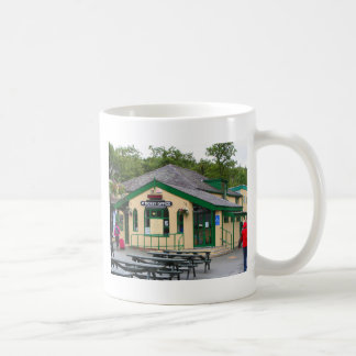 Caneca De Café Estação de comboio da montanha de Snowdon,